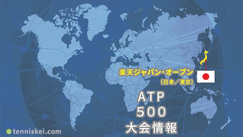 2018年 楽天ジャパン オープンの大会情報 ドロー表 放送予定